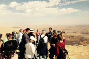 Tour of Ramon Crater